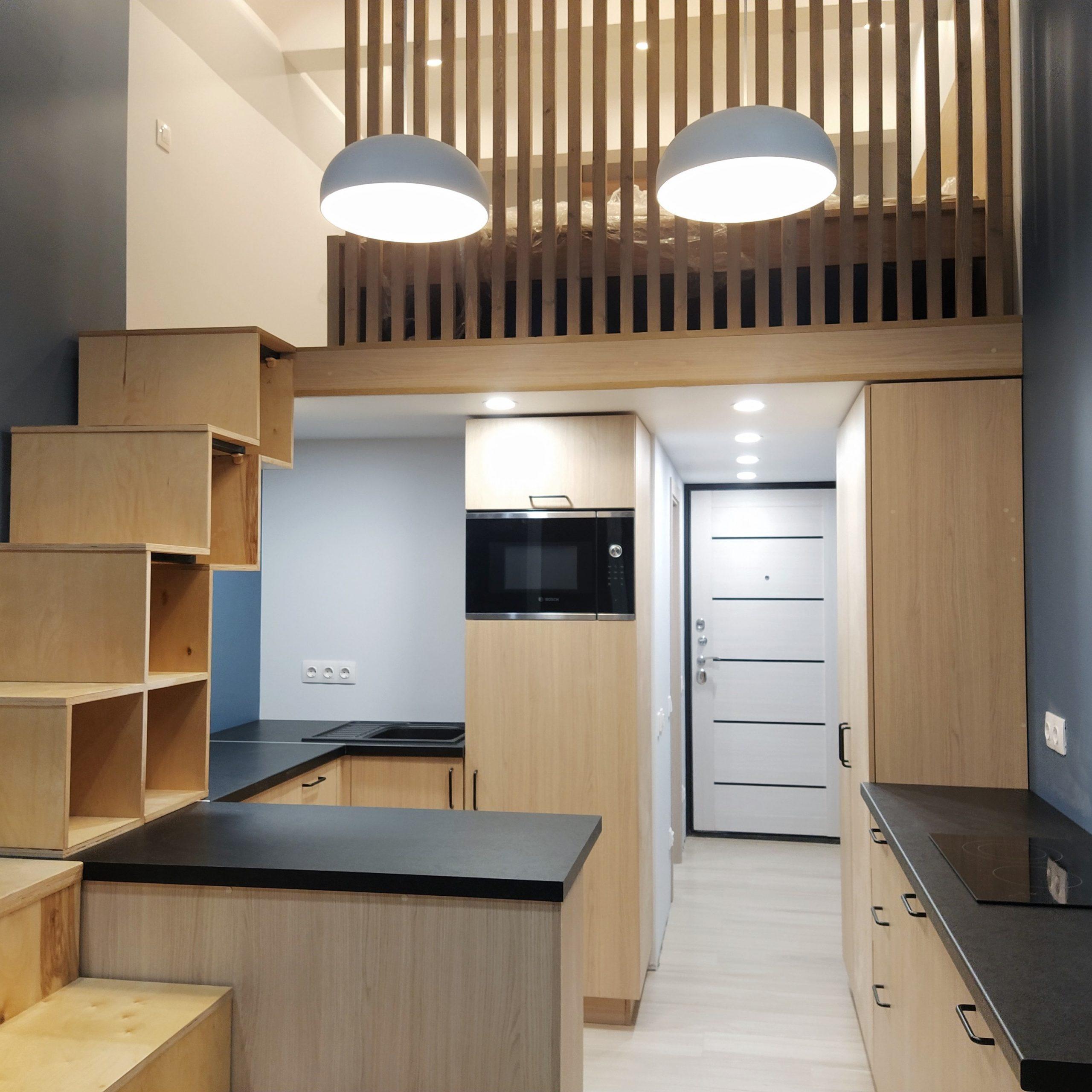 Кухня без верха на заказ в Твери